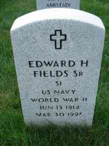Edward FIELDS - Grave