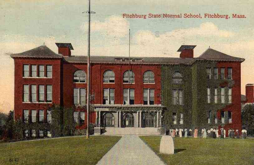 Fitchburg, Massachusetts, USA - Fitchburg State Normal School (1915)