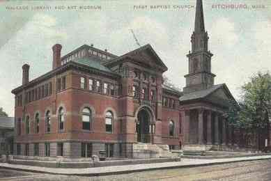 Fitchburg, Massachusetts, USA - Wallace Library and Art Museum