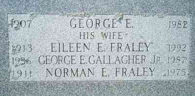 Norman Euclid Fraley - Grave