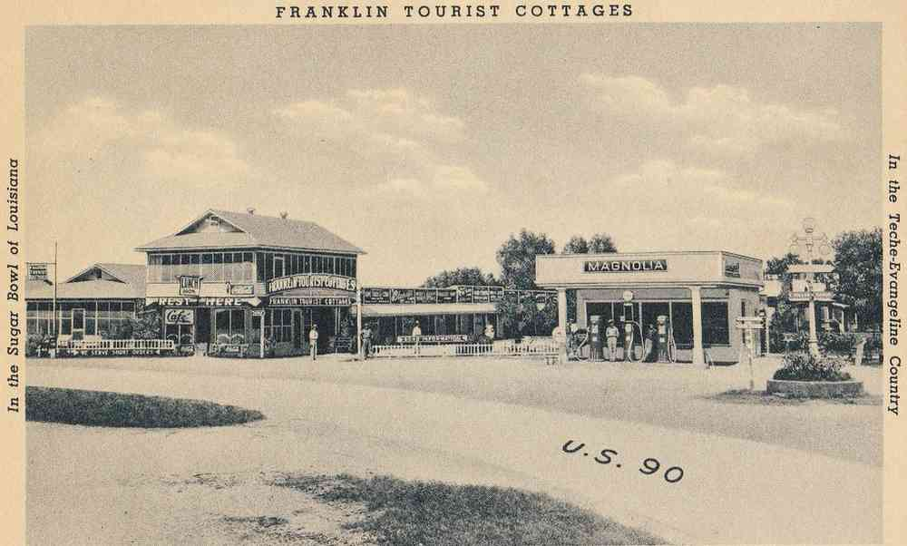 Franklin, Louisiana, USA - Franklin Tourist Cottages