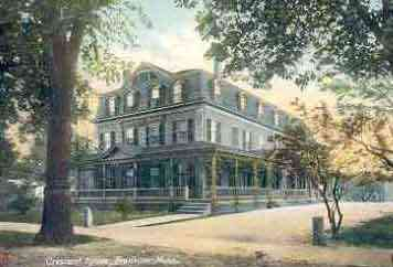 Franklin, Massachusetts, USA - Crescent House, Franklin, Mass.