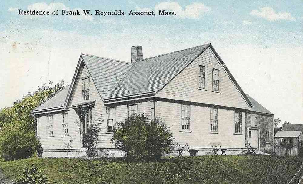 Freetown, Massachusetts, USA (Assonet) (East Freetown) - Residence of Frank W. Reynolds, Assonet, Mass.
