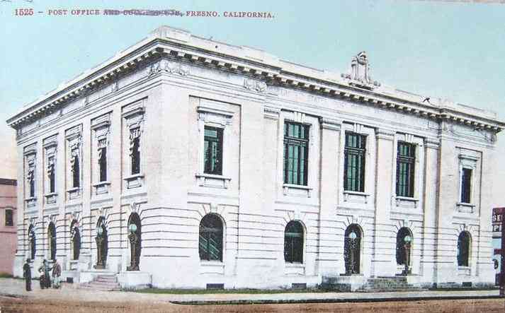 Fresno, California, USA - Post Office and Court House