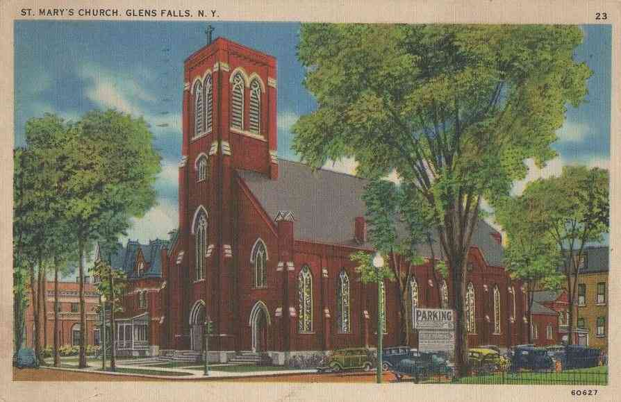 Glens Falls, New York, USA - St. Mary's Church