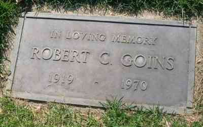 Robert Campbell Goins - Grave