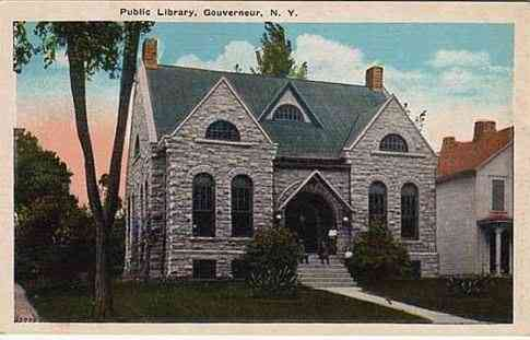 Gouverneur, New York, USA - Public Library