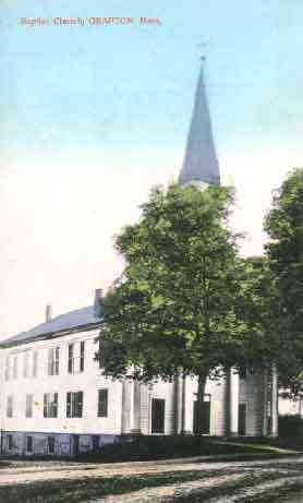 Grafton, Massachusetts, USA - Baptist Church, Grafton, Mass.