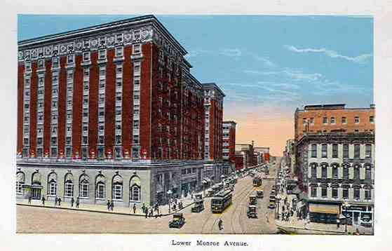 Grand Rapids, Michigan, USA - Lower Monroe Avenue, Grand Rapids, Mich.