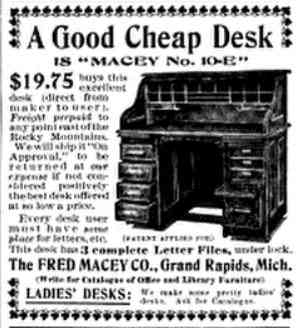 Grand Rapids, Michigan, USA - A Good Cheap Desk