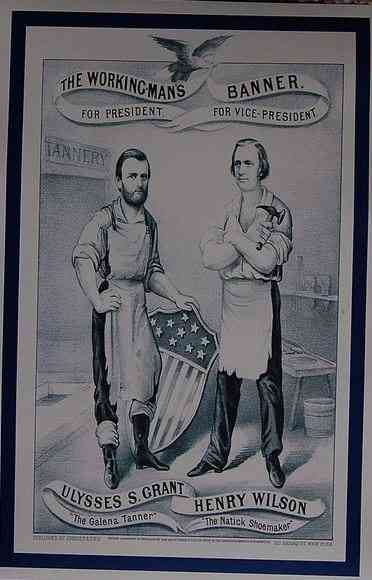 Ulysses Simpson Grant - campaign poster