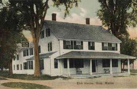 Gray, Maine, USA - Elm House (1907)