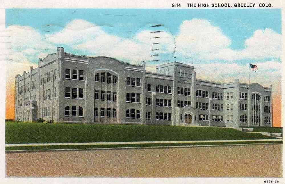 Greeley, Colorado, USA - The High School