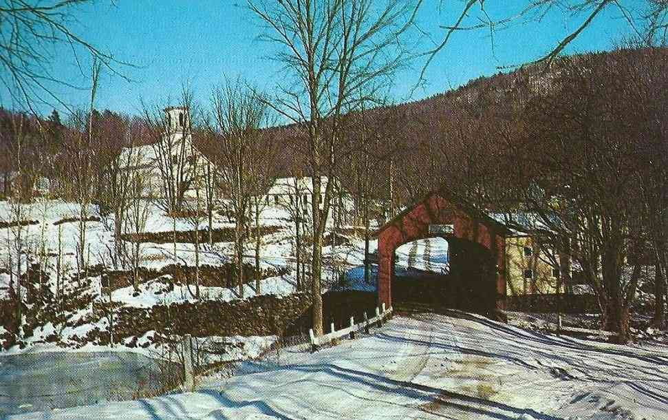 Guilford, Vermont, USA - Covered Bridge