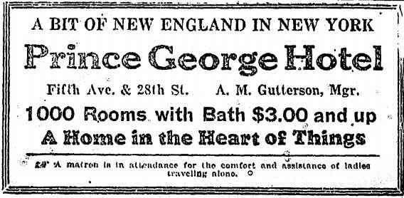 Manhattan, New York, USA (New York City) (New Amsterdam) - 1927 advertisement