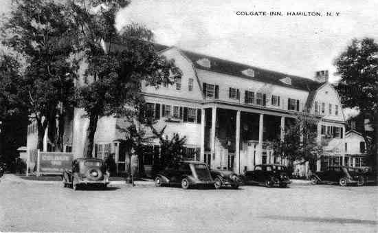 Hamilton, New York, USA - Colgate Inn. Hamilton, N. Y.