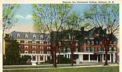 Hanover, New Hampshire, USA - Hanover Inn, Dartmouth College