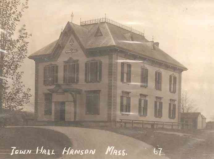 Hanson Massachusetts Usa History Photos Old