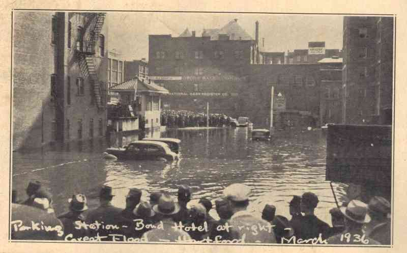Hartford, Connecticut, USA - March 1936 Flood