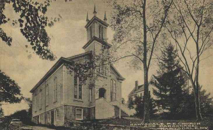 Greenburgh, New York, USA (Tarrytown) (Hartsdale) - Hartsdale M.E. Church and Parsonage