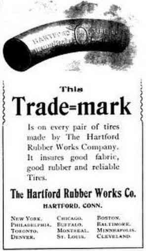 Hartford, Connecticut, USA - The Hartford Rubber Works Co., Hartford, Conn.