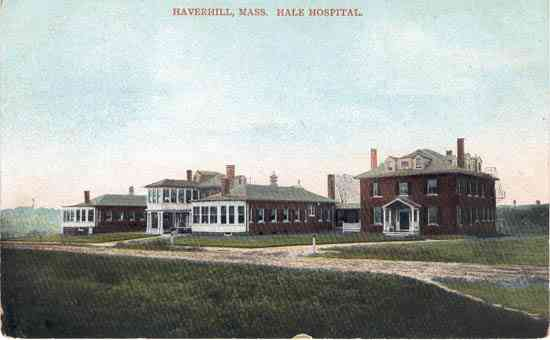 Haverhill, Massachusetts, USA (Ayers Village) - Haverhill, Mass. Hale Hospital.