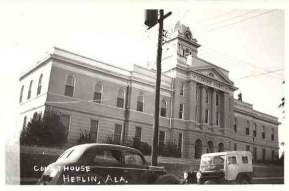 Heflin, Alabama, USA - Court House, Heflin, Ala.