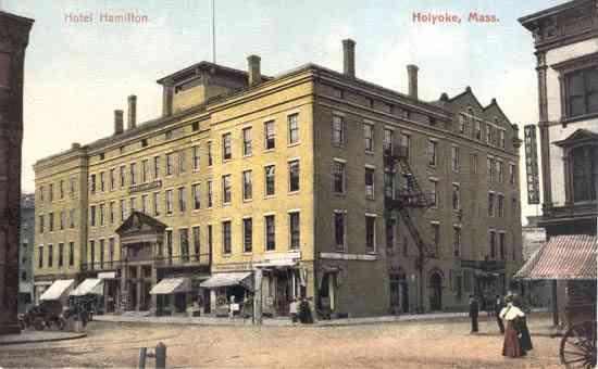 Holyoke Machusetts Usa Hotel Hamilton M