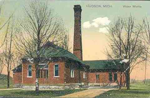 Hudson, Michigan, USA - Hudson Mich. Water Works