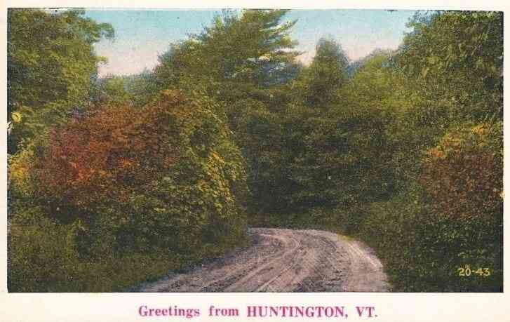 Huntington, Vermont, USA -