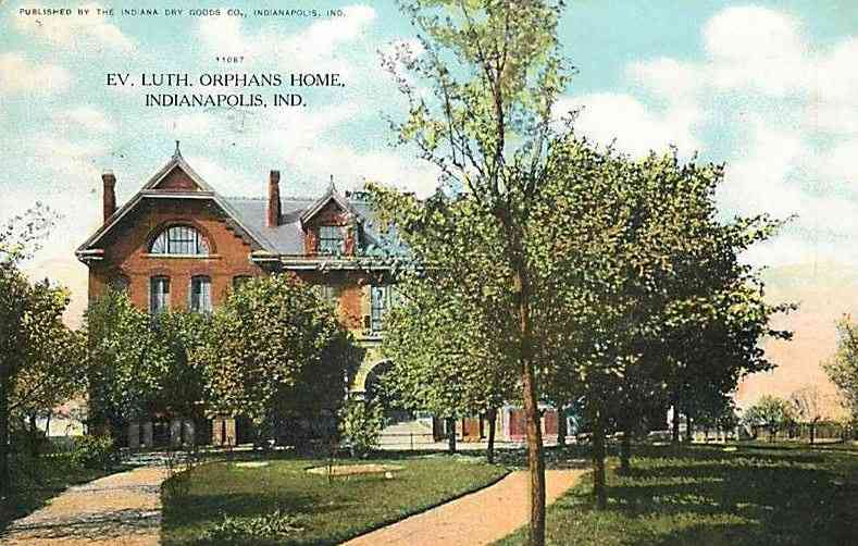 Indianapolis, Indiana, USA - Ev. Luth. Orphans Home