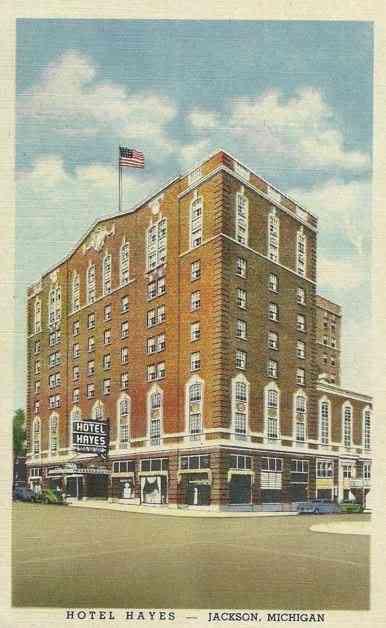 Jackson Michigan Usa Hotel Hayes