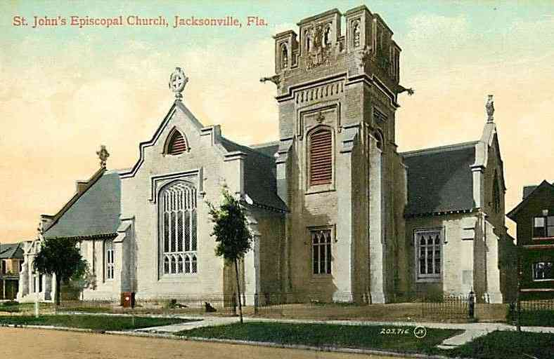 Jacksonville, Florida, USA - St. John's Episcopal Church