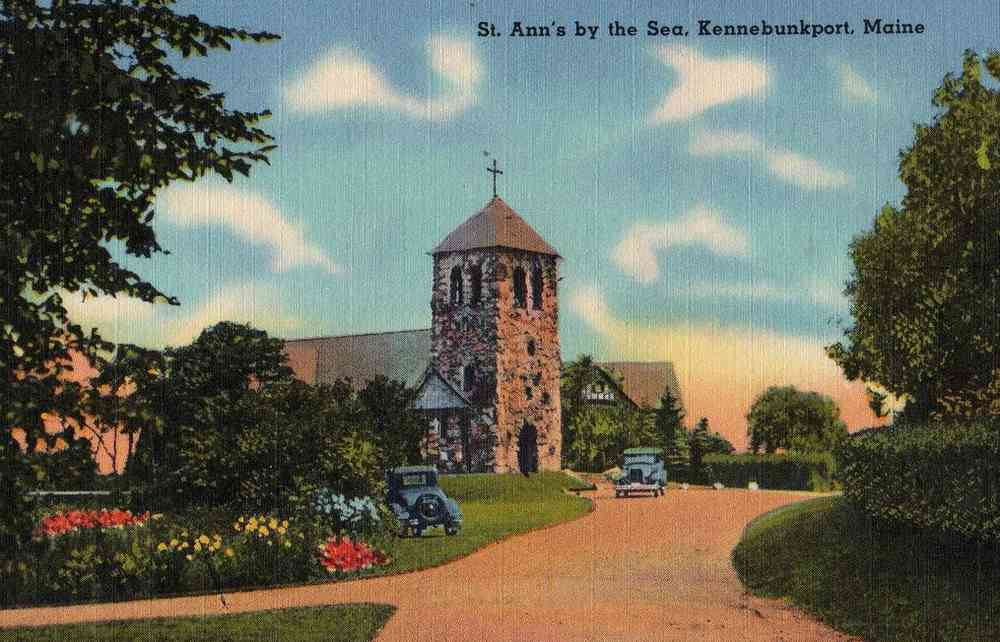 Kennebunkport, Maine, USA - St. Ann's by the Sea