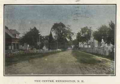Kensington, New Hampshire, USA - The Centre