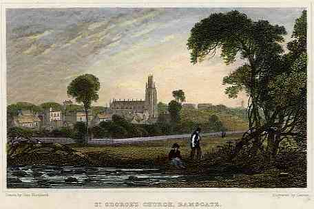 , Kent County, England - St.Georges Church, Ramsgate
