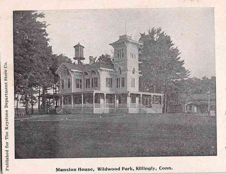 Killingly, Connecticut, USA - Mansion House, Wildwood Park