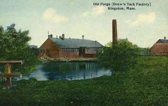 Kingston, Massachusetts, USA - Old Forge (Drew's Tack Factory)