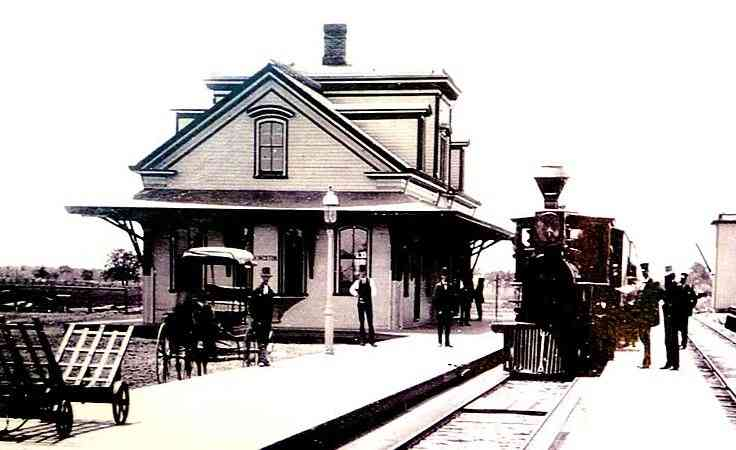 South Kingstown, Rhode Island, USA (Kingston) (West Kingston) (Matunuck) - Kingston, R.I. Depot