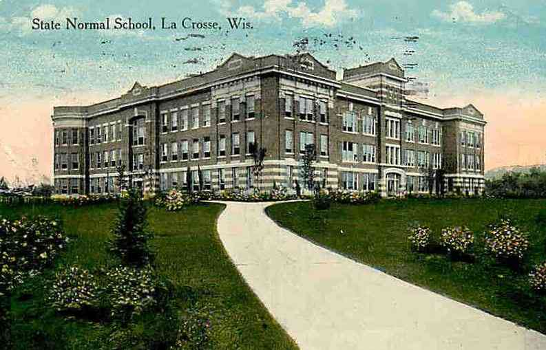 La Crosse, Wisconsin, USA (LaCrosse) - State Normal School, La Crosse, Wis.