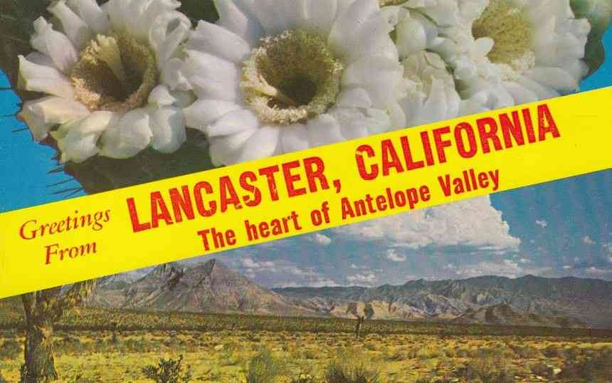 Lancaster, Los Angeles, California, USA - The heart of Antelope Valley