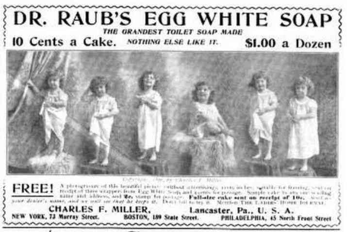 Lancaster, Pennsylvania, USA - Dr. Raub's Egg White Soap
