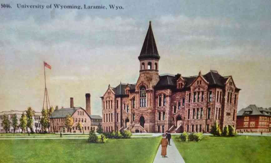 Laramie, Wyoming, USA - University of Wyoming, Laramie, Wyo.