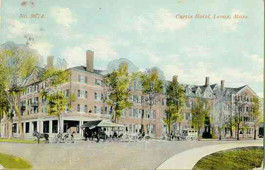 Lenox, Massachusetts, USA - Curtis Hotel. Lenox, Mass.