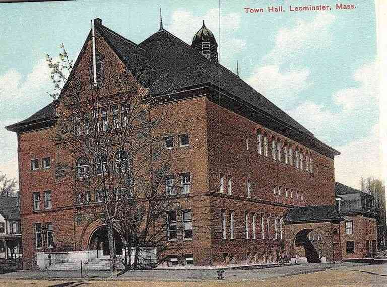 Leominster, Massachusetts, USA - Town Hall