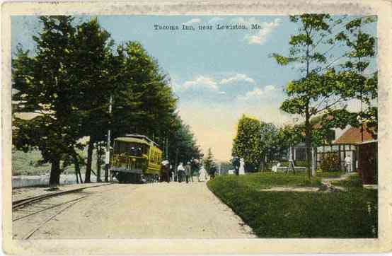 Lewiston, Maine, USA - Tacoma Inn, near Lewiston, Me.