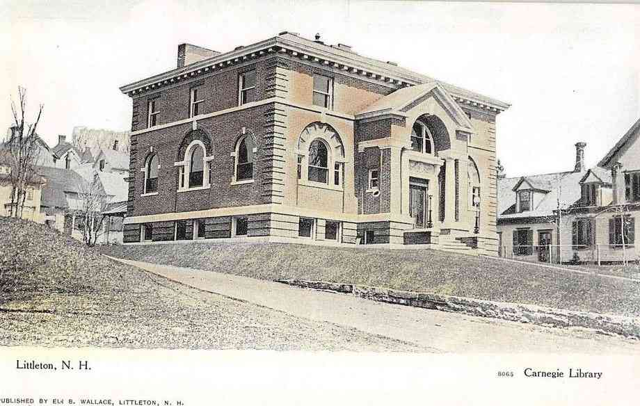 Littleton, New Hampshire, USA (Chiswick) - Carnegie Library, Littleton, N.H.