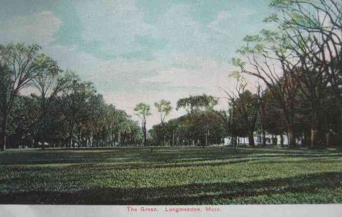 Longmeadow, Massachusetts, USA - The Green (1910)