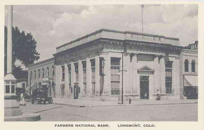 Longmont, Colorado, USA - Farmers National Bank