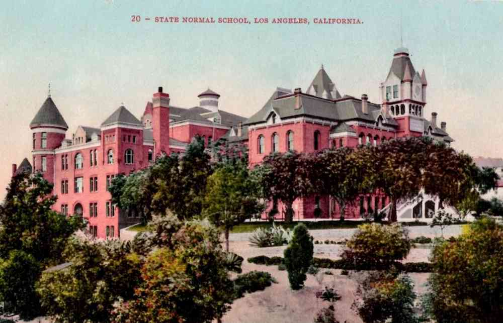 Los Angeles, California, USA - State Normal School